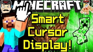 Minecraft SMART CURSOR! Intelligent On-Screen Display for Mobs, Blocks&Much More!