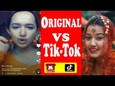 Original Vs Tiktok | Popular Musically Dialogue of Colleges Nepal | Ramailo Tv