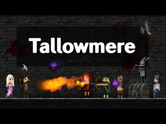 Tallowmere - iPhone/iPad/Android Gameplay Trailer