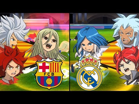 [Full HD 1080P] Inazuma Eleven La Liga ~ Barcelona vs Real Madrid ※Pokemon Anchor※
