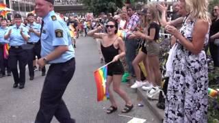 Szwedzka policja vs rosyjska policja… różnica jest.