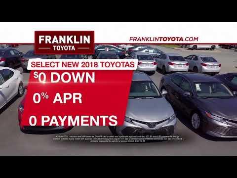 Franklin Toyota - Summer Starts Here