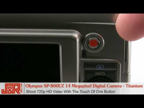 Olympus SP-800UZ  Digital Camera Review