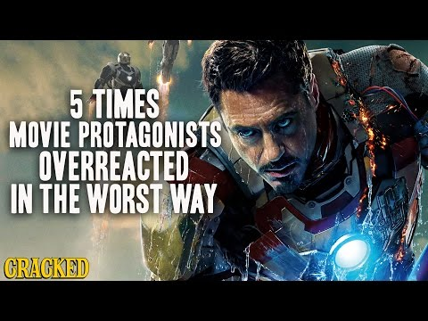 5 Times Movie Protagonists Overreacted In The Worst Way (видео)