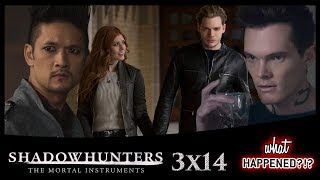 SHADOWHUNTERS 3x14 Recap: Sneaky Jonathan & Magnus Tries to Get His Groove Back - 3x15 Promo