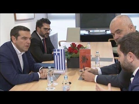 Συνάντηση Αλέξη Τσίπρα-Έντι Ράμα στο πλαίσιο της «Πρωτοβουλίας 16+1»