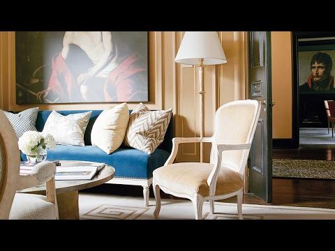 Interior Design: A Designer's Elegant Colorful Home