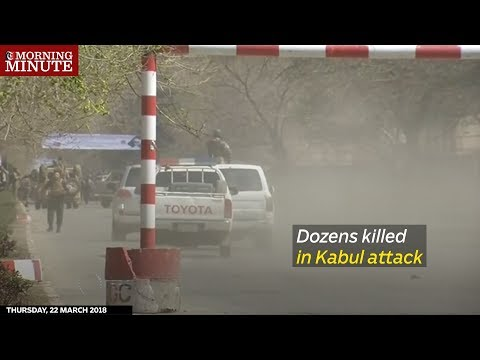 Dozens killed in Kabul attack