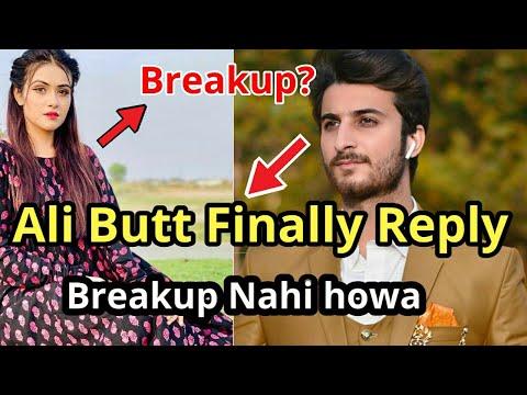 Ali Butt Reaction On Breakup | Sehar Hayat And Alley Butt Complete Story | Alley Butt And Sehar