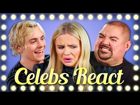 Celebrities React to Pimple Popping