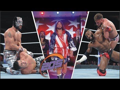 WWE 205 Highlights 19th September 2018   wwe 205 live highlights  WWE 205 Highlights 19th september