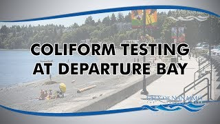 Coliform Testing at Departure Bay Beach