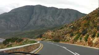 Hermanus South Africa  City pictures : Driving on a scenic coastal road near Hermanus, South Africa