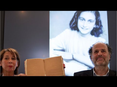 Hidden Pages In Anne Frank's Diary Revealed