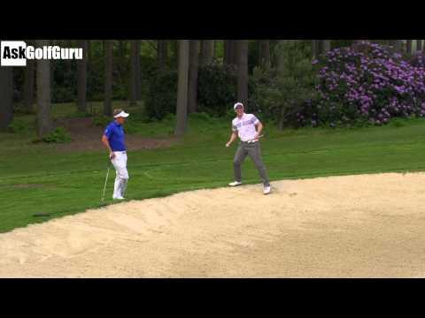 Luke Donald Bunker Golf Game