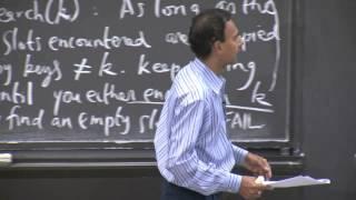 10. Open Addressing, Cryptographic Hashing