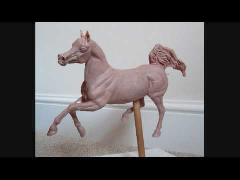 Arabian Mare Original Sculpture - in Process