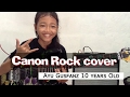 Canon Rock by Jerry C cover Ayu Gusfanz 10 years Old from Indonesia waptubes