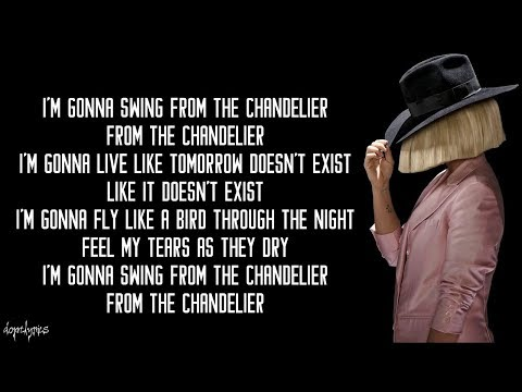 Chandelier - Sia (Lyrics) Mp3