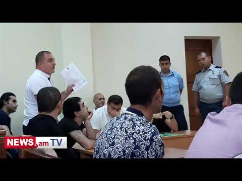 Լեզվակռիվ պաշտպանների եւ դատավորի միջեւ Էջմիածնի դատարանում - DomaVideo.Ru