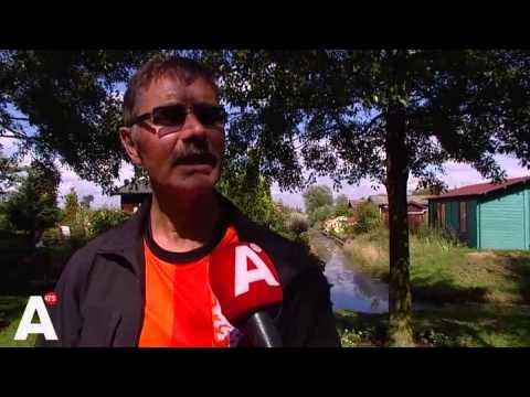 Stadsnomaden zijn niet welkom Tuinpark Buikslotermeer Amsterdam