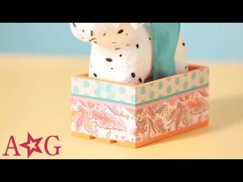 DIY Doll Dog & Cat Pet Carrier   Craft Studio   American Girl