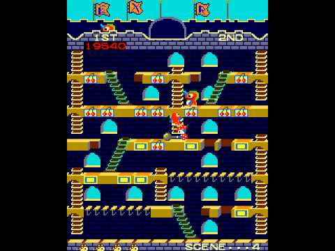 Arcade Game: Mr. Do's Castle (1983 Universal)