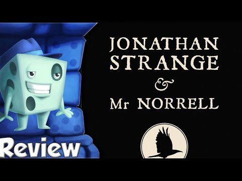 Jonathan Strange & Mr Norrell: A Board Game of English Magic Review - with Tom Vasel