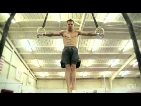 weight training - Jonathan Horton's Olympic gymnastics workout Source: Yahoo Elite Workouts, Jun 18, 2012.