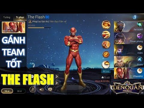 Lật kèo cùng Siêu anh hùng The Flash quá nhanh quá mạnh | Arena of valor The Flash - Thời lượng: 16:42.