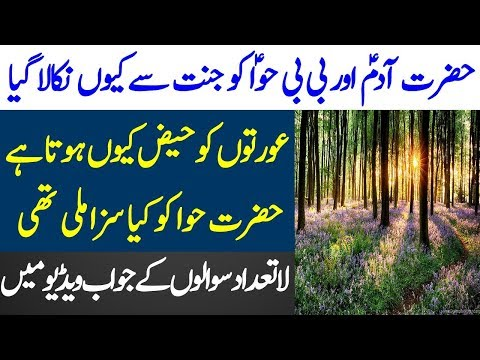 Hazrat Adam or BiBi Hawa Ki Kahani | Adam and Eve Story | Limelight Studio
