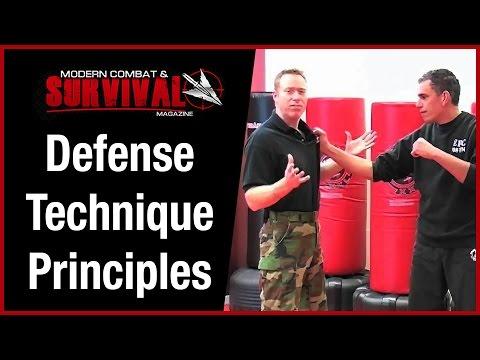 3 Street Fight Self Defense Technique Principles