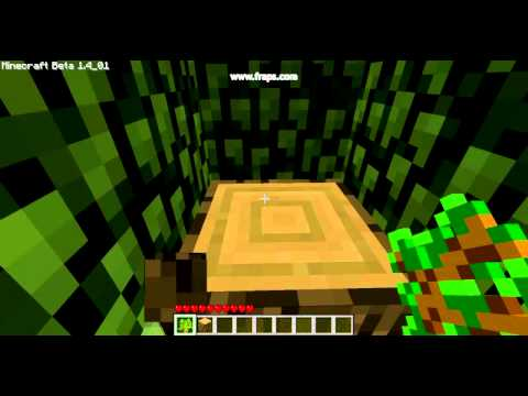 MineCraft How to get sticks and wooden planks