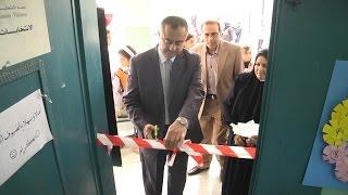إفتتاح معرض علمي وادبي في مدرسة عزبة شوفة المختلطة