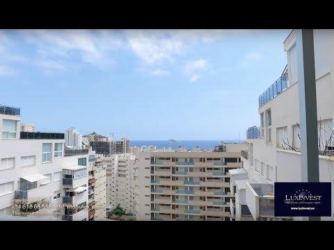 Купить квартиру в Испании недорого с видом на море в Бенидорме - 500м до моря, 2сп, 2ван – 141.750!