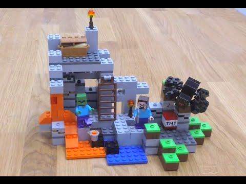LEGO Minecraft - A barlang