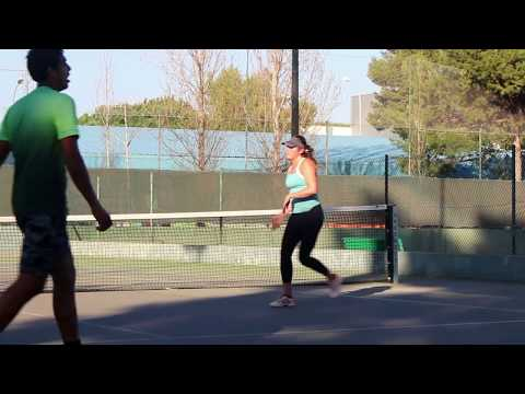 Fitness session - footwork drills