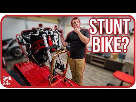 Making a Ducati Monster Stunt bike? [Wrecked Bike Rebuild - Ep. 08 - Ducati Monster 1100]