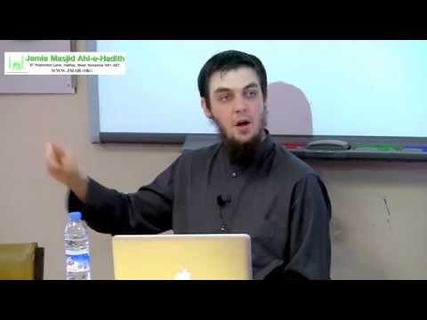 Description of the Clothing, Food,and Drink of the Prophet (ﷺ) - Session 2 of 7 - Tim Humble