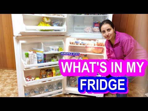 How to lose weight - What's In My Fridge  Healthy Foods To Lose Weight  Versatile Vicky Fridge Tour  Weight Loss