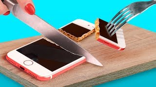 Video 8 DIY Edible Phone Cases / Edible Pranks MP3, 3GP, MP4, WEBM, AVI, FLV Juni 2019