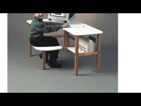Video New YouTube of the Childs Wooden Computer Desk For 1