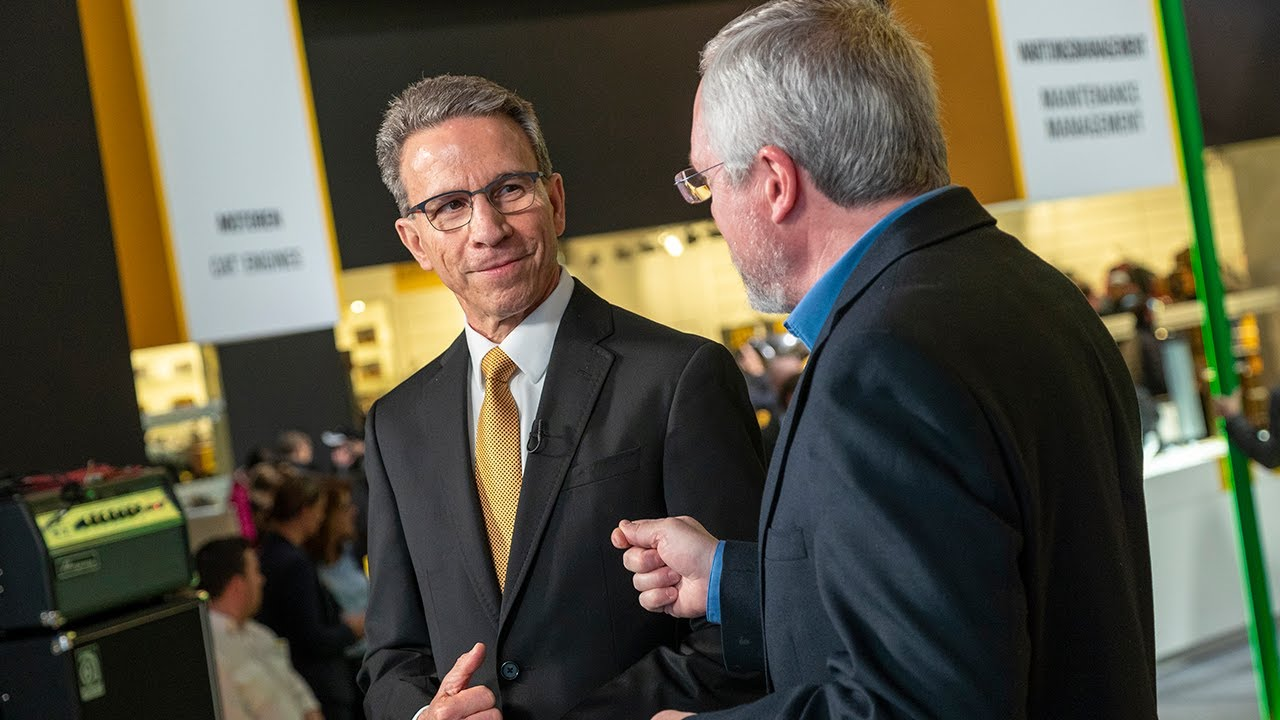 Caterpillar Chairman & CEO Jim Umpleby