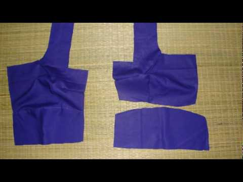Blouse - This is a typical indian sari blouse. Ive given you the readymade measurement in cms. You can try with your sample blouse by measuring with a inch tape. Prep...