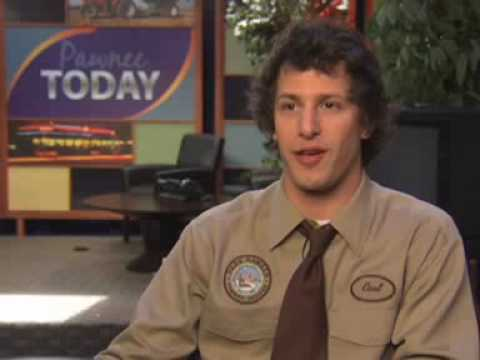 Parks and Recreation - On Set: Andy Samberg
