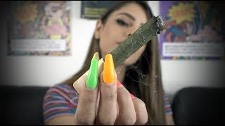 HOW TO ROLLING A CANNAGAR W/ QUEENCYN by HighRise TV