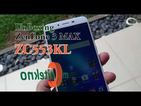 Unboxing Asus ZenFone 3 Max ZC553KL