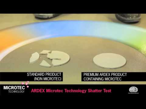 ARDEX Microtec Shatter Test