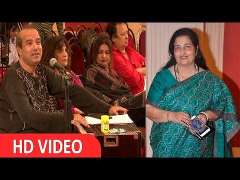 Suresh Wadkar & Anuradha Paudwal At Rehearsal For Khazana Ghazal Festival