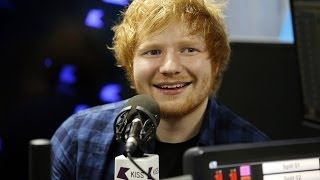 Ed Sheeran talks about Taylor Swift, X and more to KISS FM (UK)